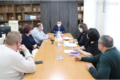 Олександр Кодола провів робочу зустріч з ніжинськими підприємцями