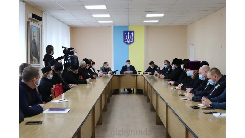 Міський голова обговорив з керівникам церков та правоохоронними органами питання підготовки та організації Великодніх свят в умовах карантину