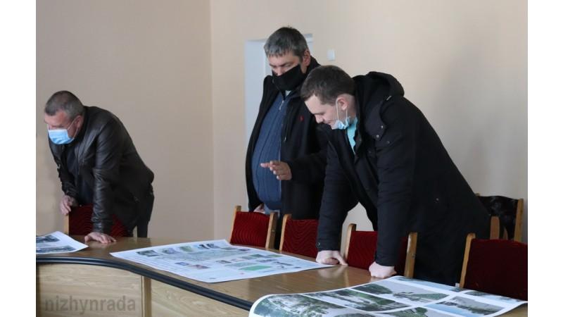 Презентували проекти візуалізації парку ім. Тараса Шевченка