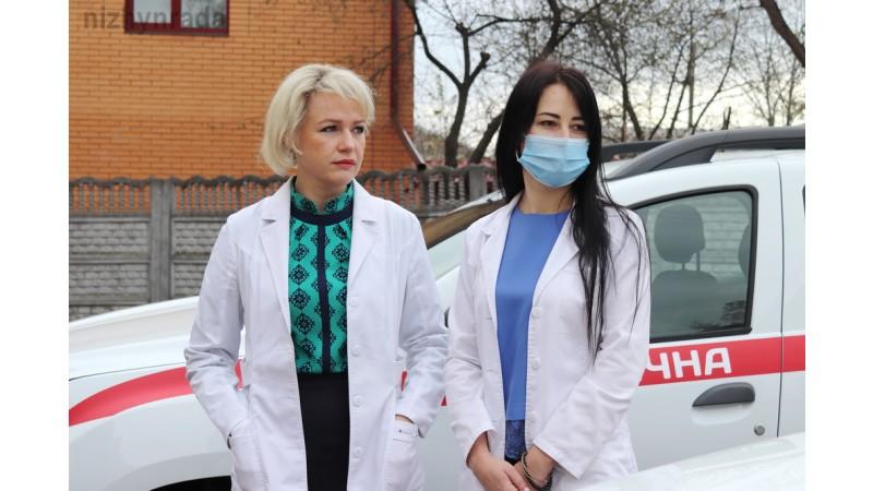 Автопарк Ніжинського центру первинної медико-санітарної допомоги поповнився новими спецавтомобілями