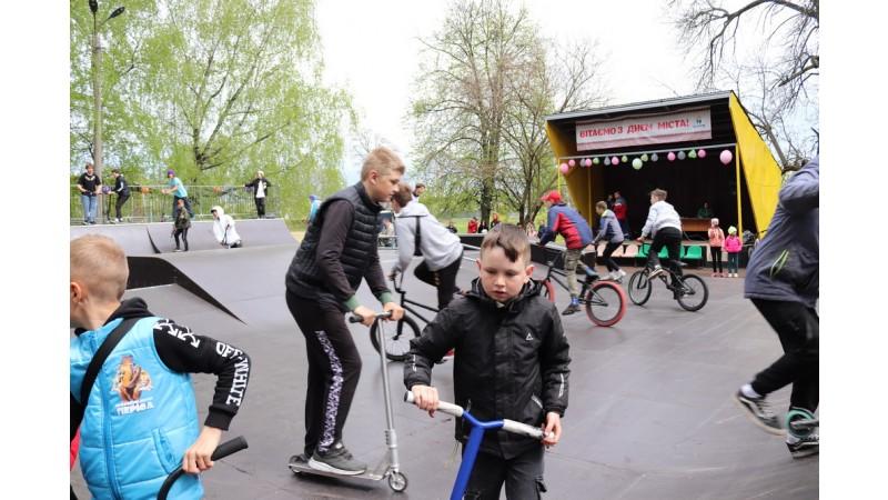 Відбулось урочисте відкриття сучасного скейт-парку