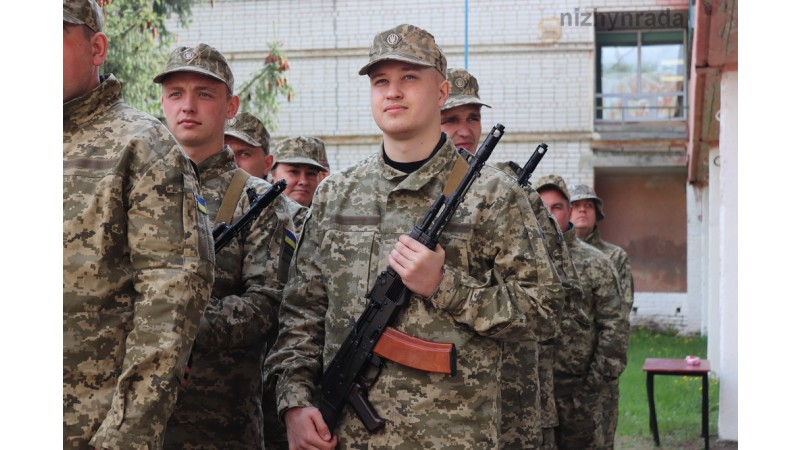 Відбулося урочисте відкриття військових навчальних зборів