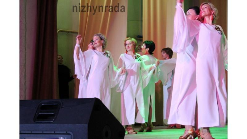 «Ніжинські сеньйорити» відсвяткували 15-річчя