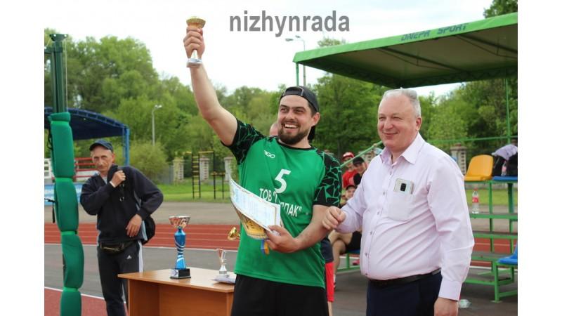 Ніжинська команда перемогла в Кубку міста з волейболу