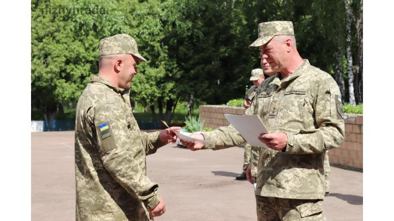 Урочисто завершились навчання 163 батальйону територіальної оборони
