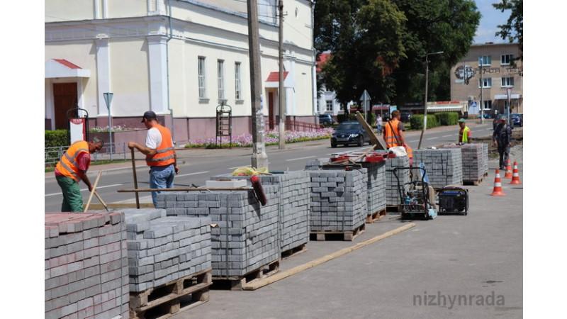 Контролюється якість виконання робіт по міським проектам благоустрою