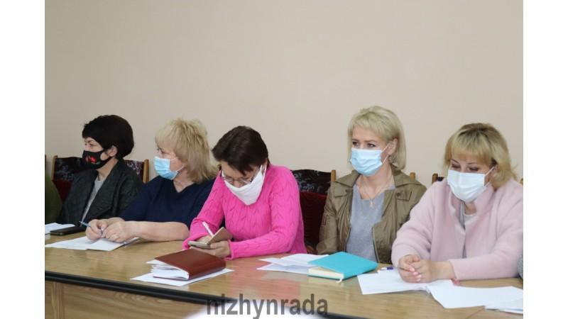 Відбулася щотижнева оперативна нарада. Рівень захворюваності на COVID-19 знижується