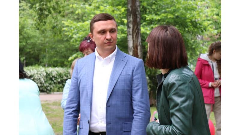 Міський голова Олександр Кодола зустрівся з дітьми з особливими потребами
