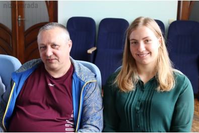 Міський голова Олександр Кодола привітав Наталію Чистякову з перемогою
