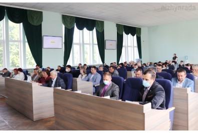 Депутати звертаються до Ніжинської районної ради щодо безоплатну передачі Ніжинській міській раді - комунального закладу «Регіональний ландшафтний парк «Ніжинський»
