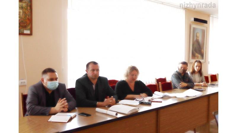 Відбулося обговорення щодо подальшої реконструкції центральної алеї вулиці Шевченка та вул. Гоголя