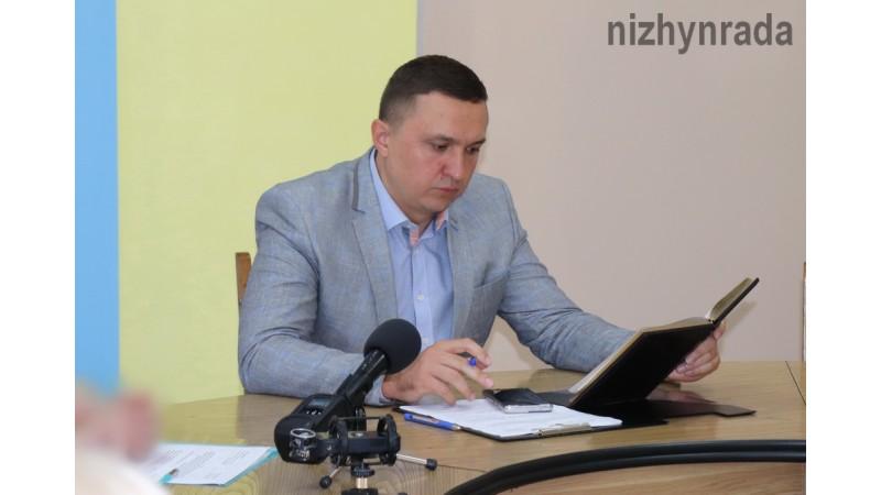 Міський голова Олександр Кодола про важливі соціально-економічні проекти для розвитку Ніжина