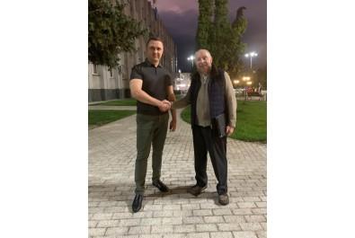 Міський голова Олександр Кодола провів робочу зустріч з президентом Малої академії наук Сергієм Довгим