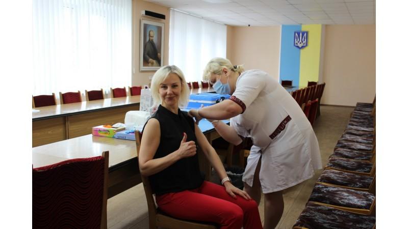 У Ніжині відбувся черговий етап вакцинації проти COVID-19