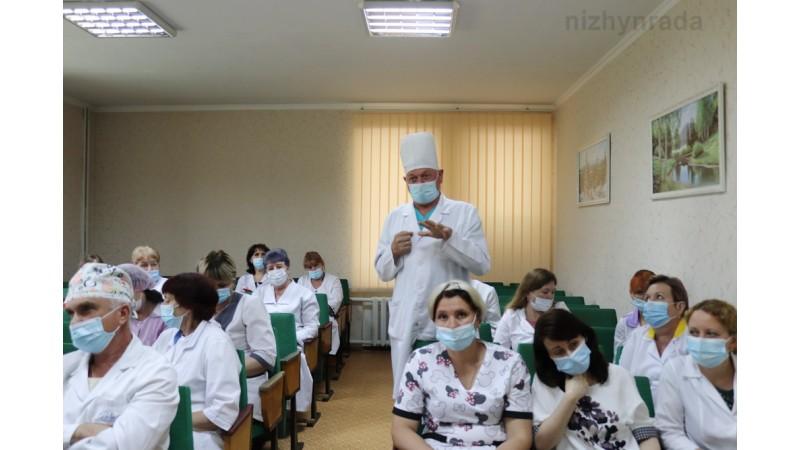 Обговорили питання щодо подальшого функціонування КНП «Ніжинська центральна міська лікарня»