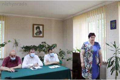 """Обговорили питання щодо подальшого функціонування КНП """"Ніжинська центральна районна лікарня"""""""