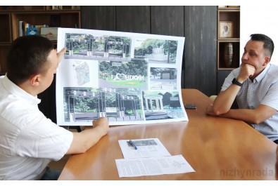 Міський голова Олександр Кодола провів робочу зустріч із орендатором земельних ділянок і споруд парку ім. Т. Г. Шевченка