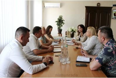 Відбулася зустріч міського голови щодо проведення інвестиційного-форуму