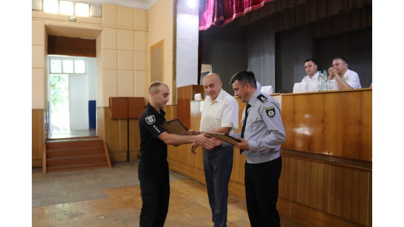 Юрій Хоменко привітав поліцейських Ніжина з Днем Національної поліції України