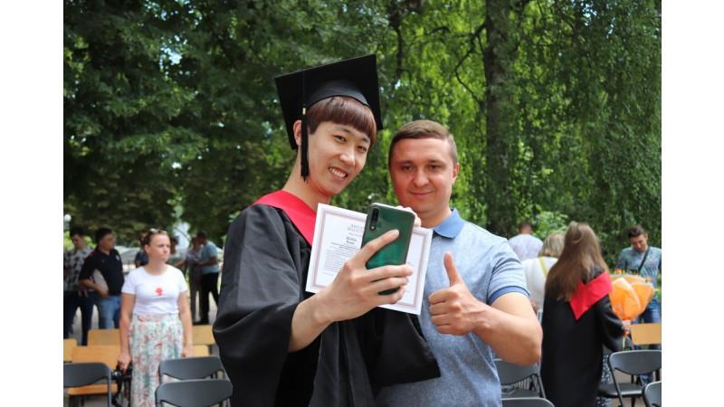 Олександр Кодола привітав випускників Ніжинського державного університету імені Миколи Гоголя з успішним завершенням навчання