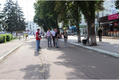 На вулиці Гоголя розпочалась реконструкція