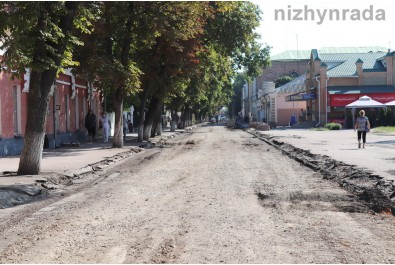 На вулиці Гоголя знайдено фрагмент дерев'яної мостової XVIII століття