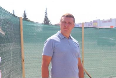 Міський голова Олександр Кодола перевірив хід виконання робіт по будівництву сучасного світлового фонтану на центральній площі міста