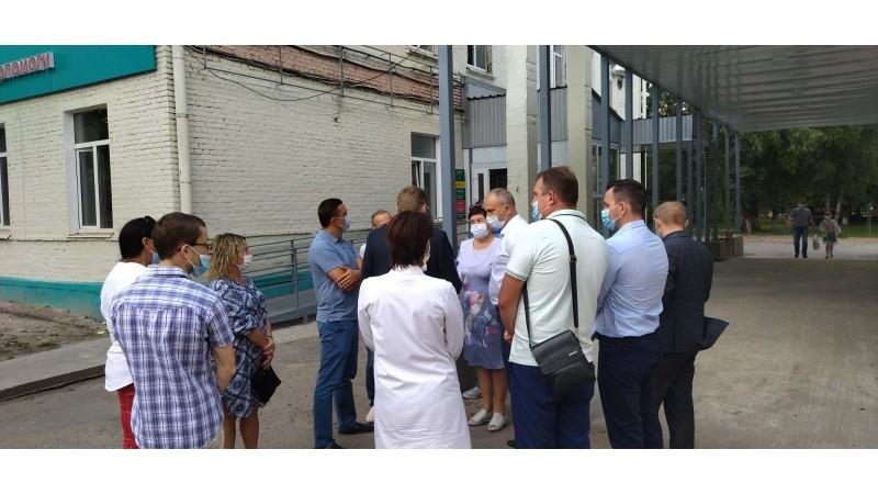 З робочим візитом до міста Ніжин завітав голова Чернігівської ОДА Вячеслав Чаус