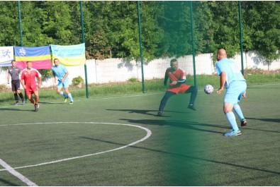 Відбувся футбольний матч присвячений Дню Незалежності України