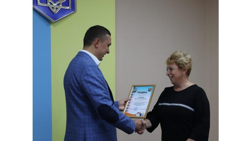 Олександр Кодола вручив Подяки підприємцям