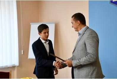 Міський голова Олександр Кодола зустрівся з спортсменами Ніжинської школи дзюдо та їх тренерами