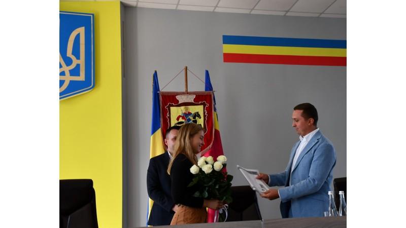 Міський голова Олександр Кодола привітав спортсменку Наталію Чистякову з перемогою на чемпіонаті Європи з дзюдо