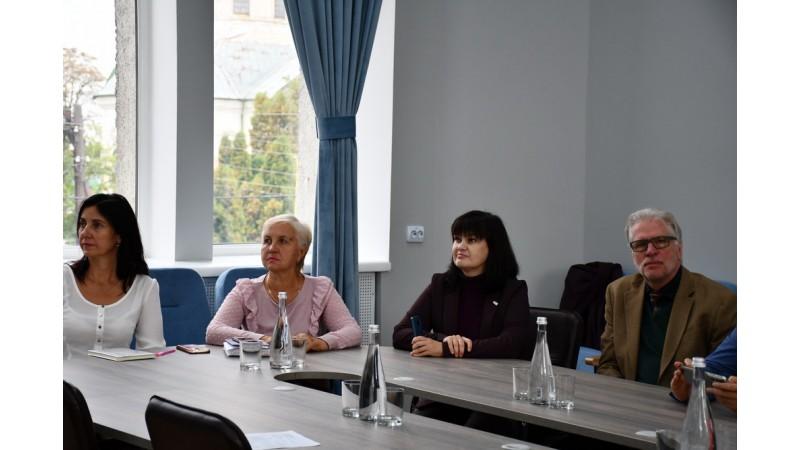 Олександр Кодола провів зустріч із керівником Програми «DOBRE» Браяном Кемплом