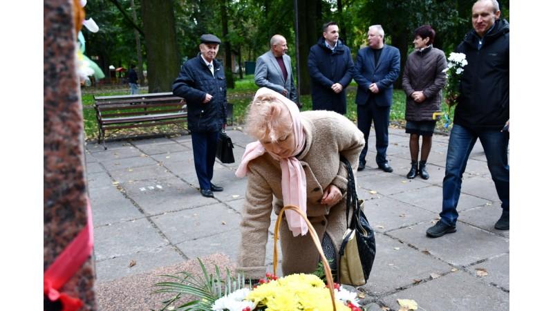Відзначили 30-річчя встановлення пам'ятника Шевченку