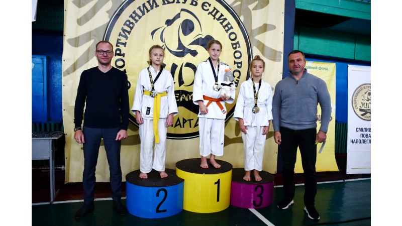 Відбувся Всеукраїнський дитячий турнір з дзюдо «Sparta Cup»