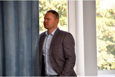 Перший заступник міського голови Федір Вовченко провів робочу зустріч з делегацією Посольства Латвійської Республіки в Україні