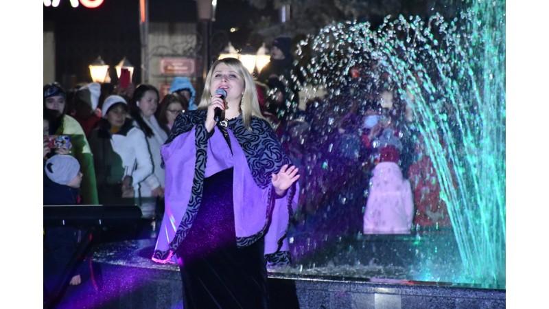 Відбулось відкриття фонтану на центральній прощі міста