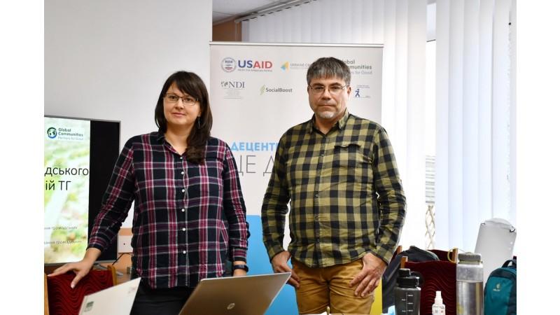 Відбулася робоча зустріч з фахівцями Програми DOBRE щодо облаштування прибережної зони відпочинку в місті Ніжині