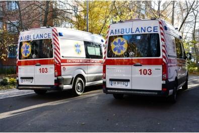 2 автомобілі марки VOLKSWAGEN Crafter отримала Ніжинська станція екстреної  (швидкої) медичної допомоги