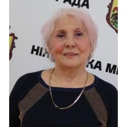Величко Людмила Миколаївна - Голова Ніжинської ветеранської організації
